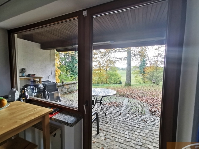 Küche Aussicht Terrasse