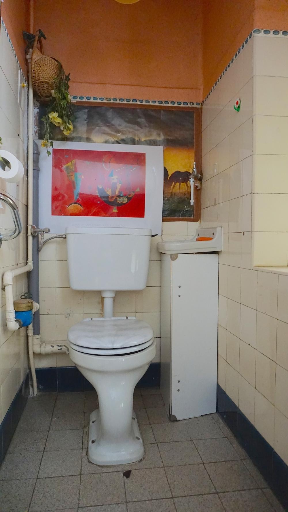 WC Treppenhaus DG
