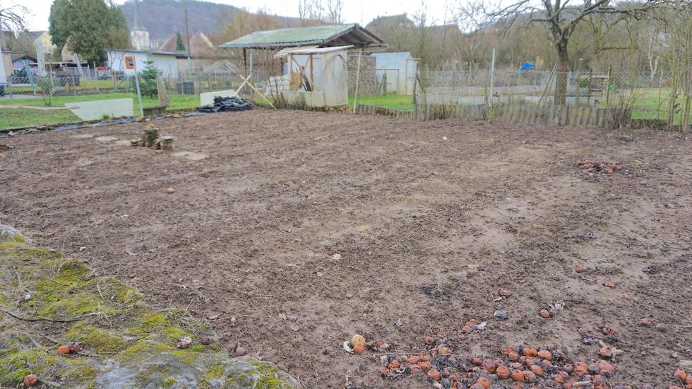 sep. Gartengrundstück