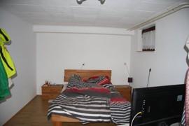 Souterrain Schlafzimmer