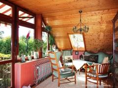 Balkonzimmer im Dachgeschoss