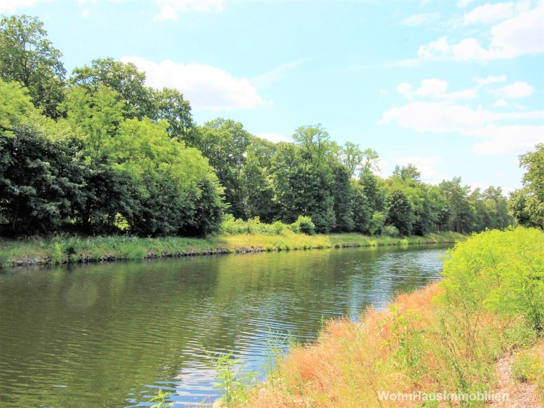 Oder-Spree-Kanal vorm Haus