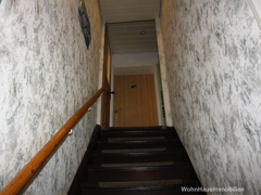 Treppe zur Einliegerwohnung
