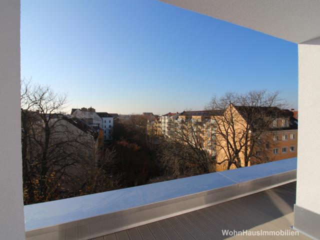 Ihr Ausblick von der Dachterrasse