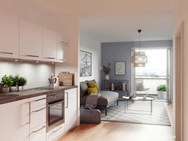 1 Raum Apartment in Lichtenberg Neubau