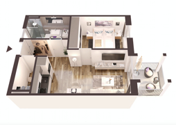 2Zimmer Wohnung B2