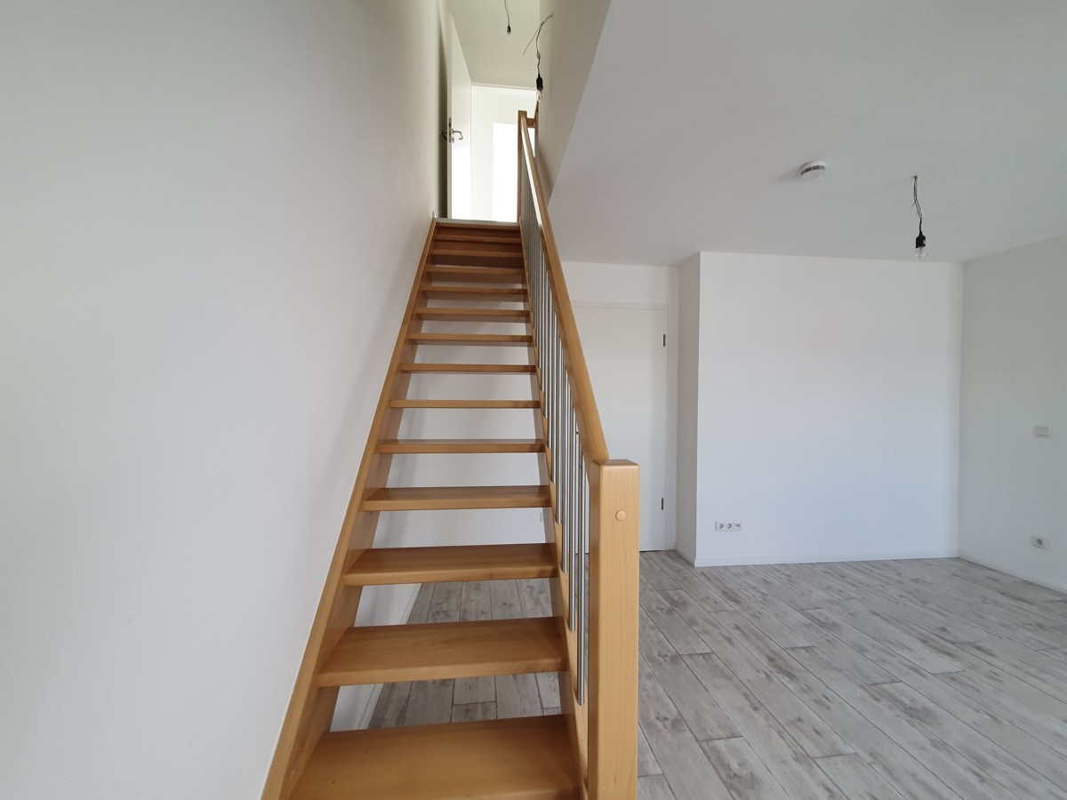 Treppe zum oberen Stock