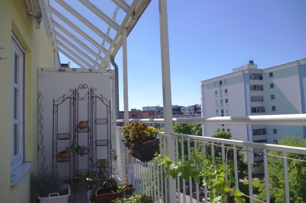 Balkon - Blick nach Osten (2)