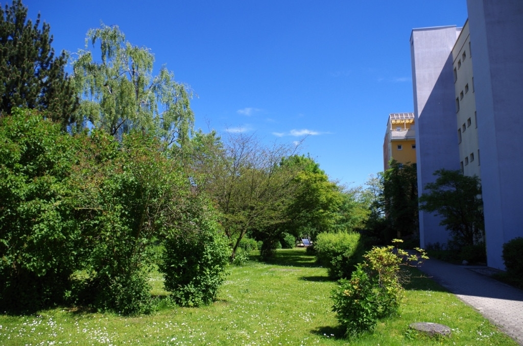 Parkartiger Innenhof (2)