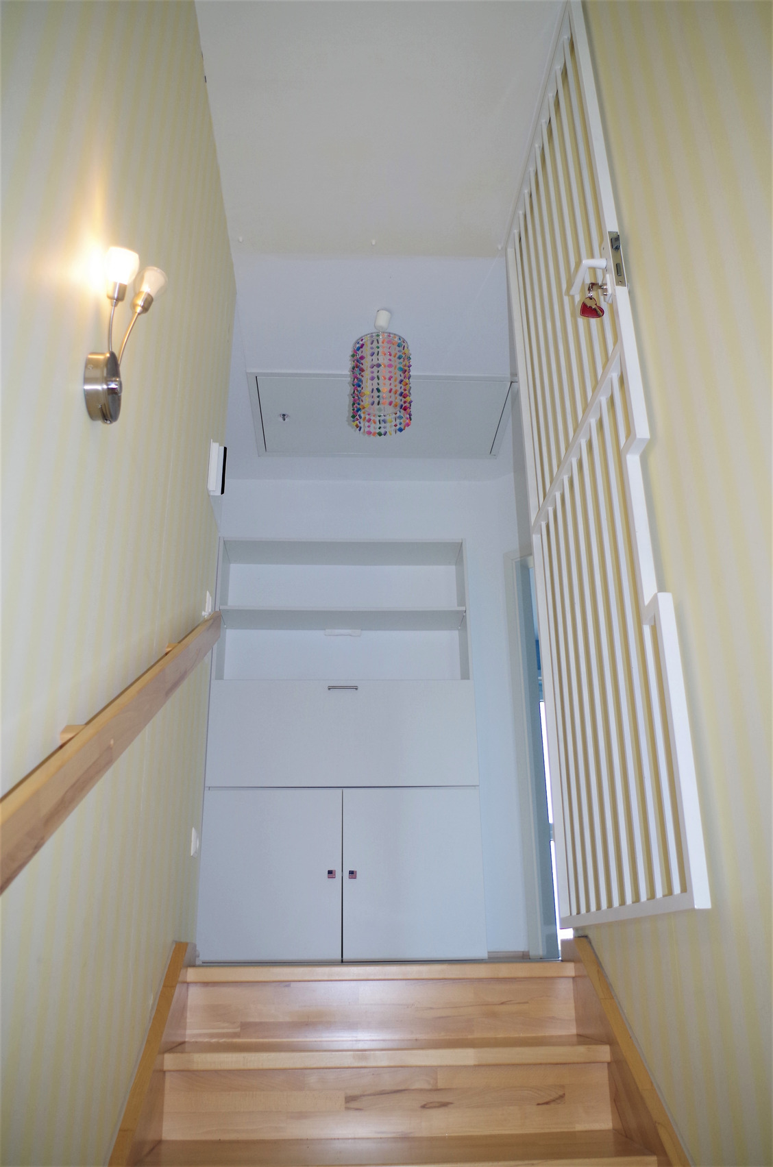 Treppe in Echtholz