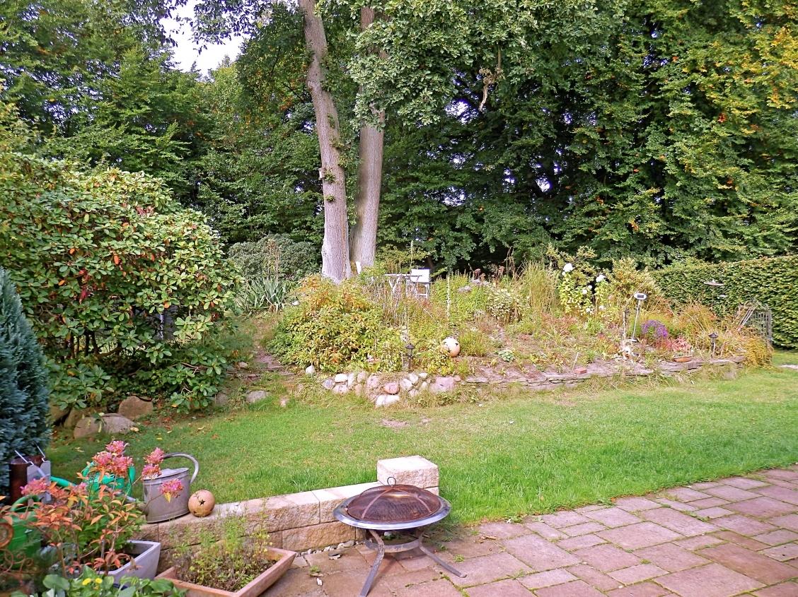 Garten mit Westterrasse