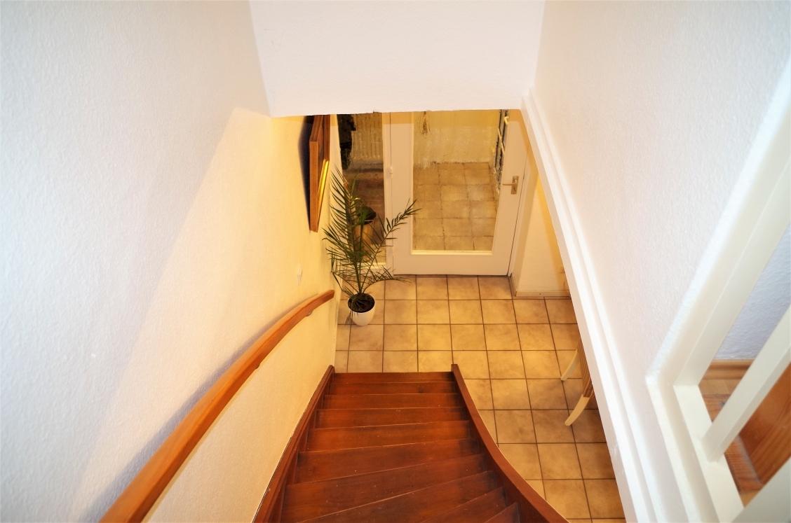 Treppe aus dem OG