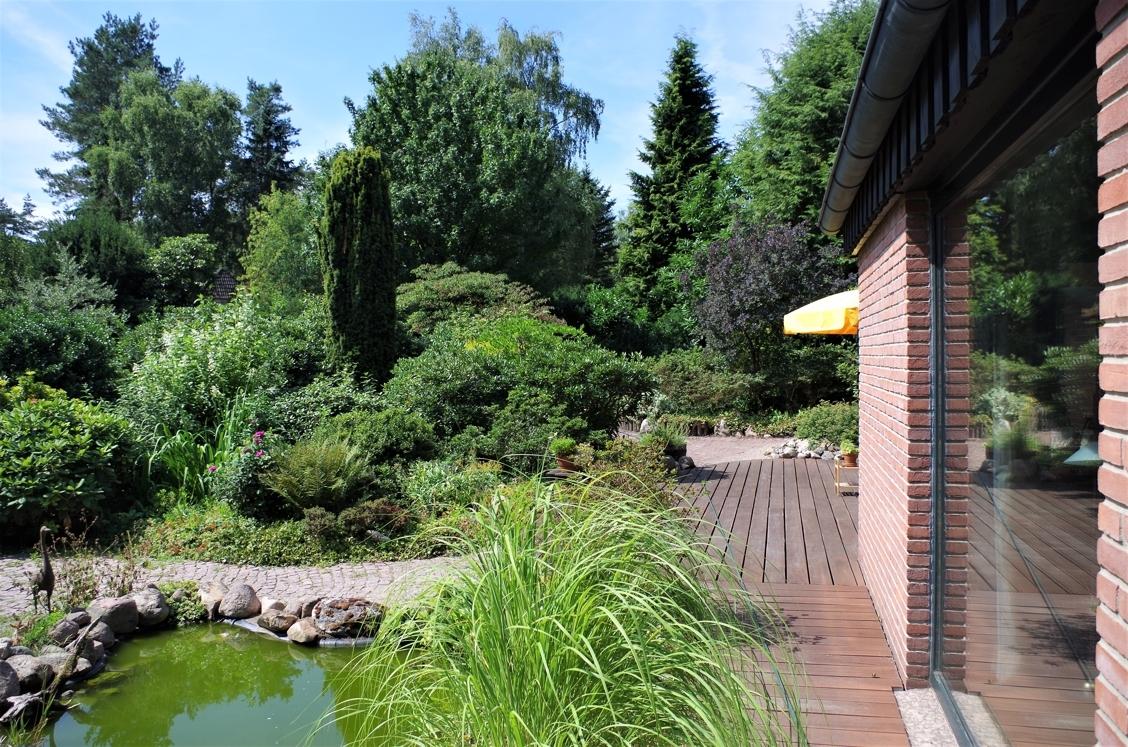 Garten mit Teich 3