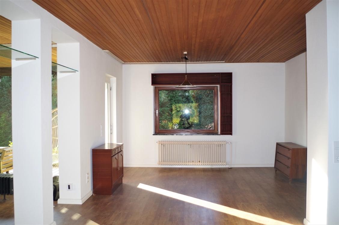 Essbereich mit Terrassenzugang