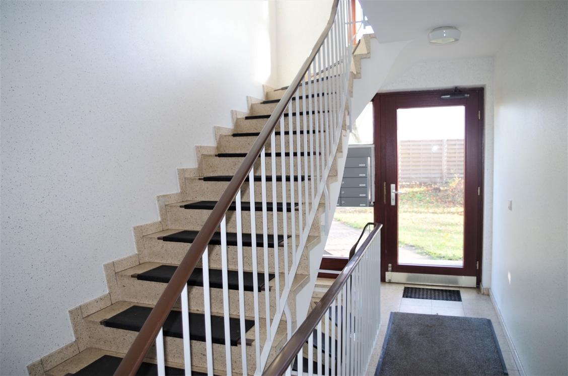 Gepflegtes Treppenhaus 1