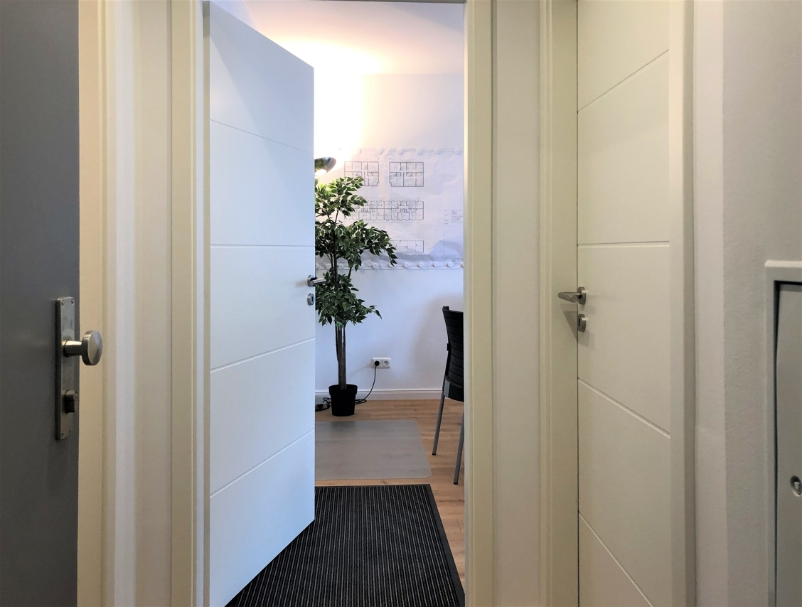 Musterwohnung Eingang