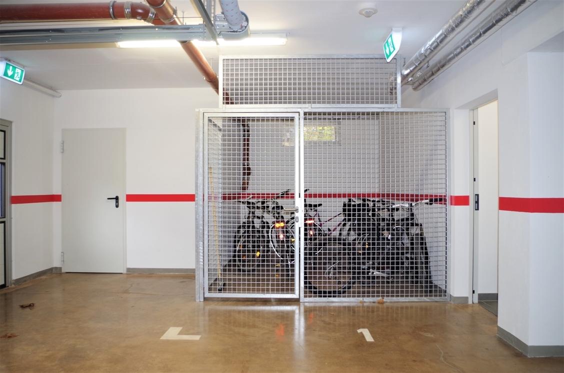Tiefgarage - Fahrradkeller
