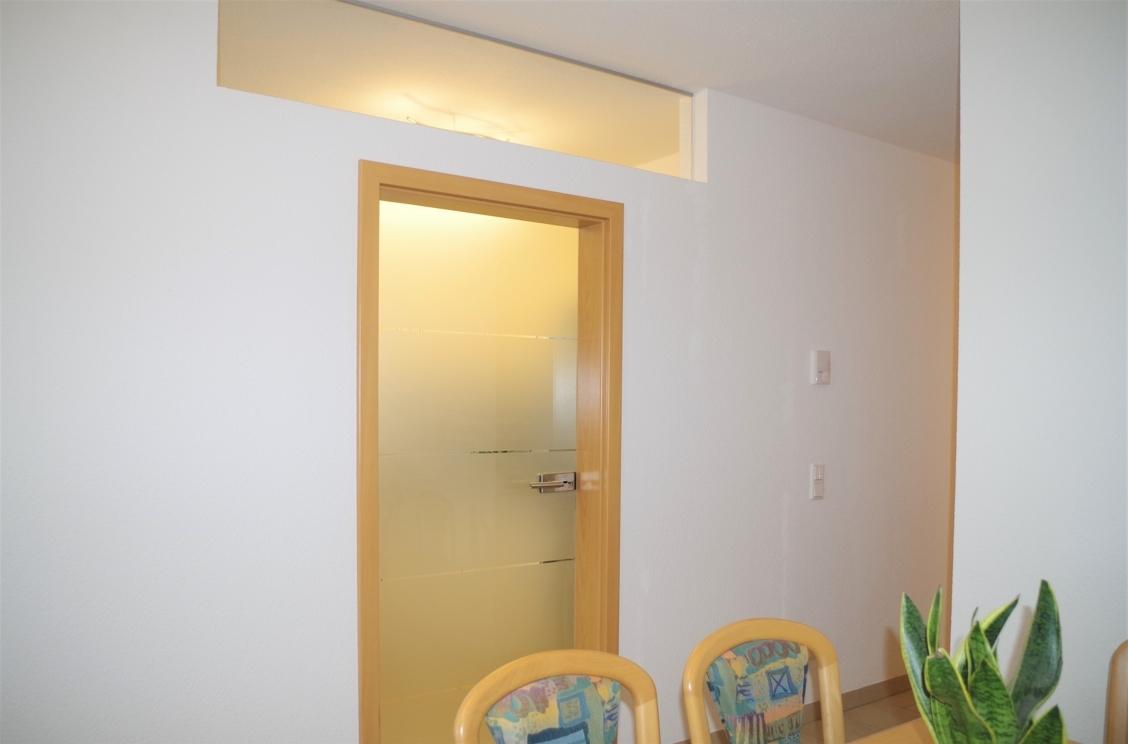 Küche Eingang mit Oberlicht