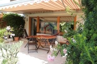 Terrasse mit Markisse