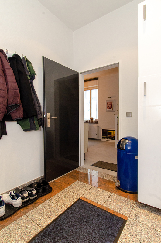 Garderobe, Eingangsbereich
