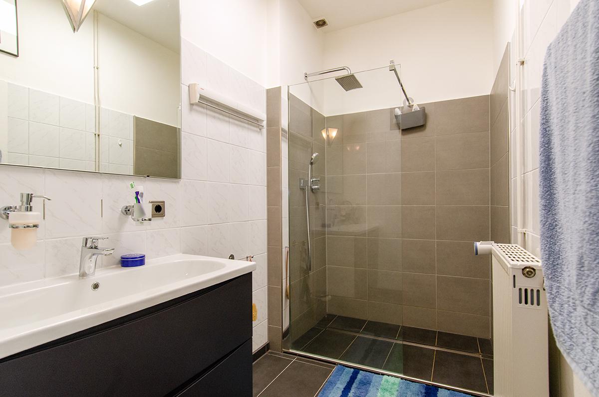Innenliegendes Duschbad
