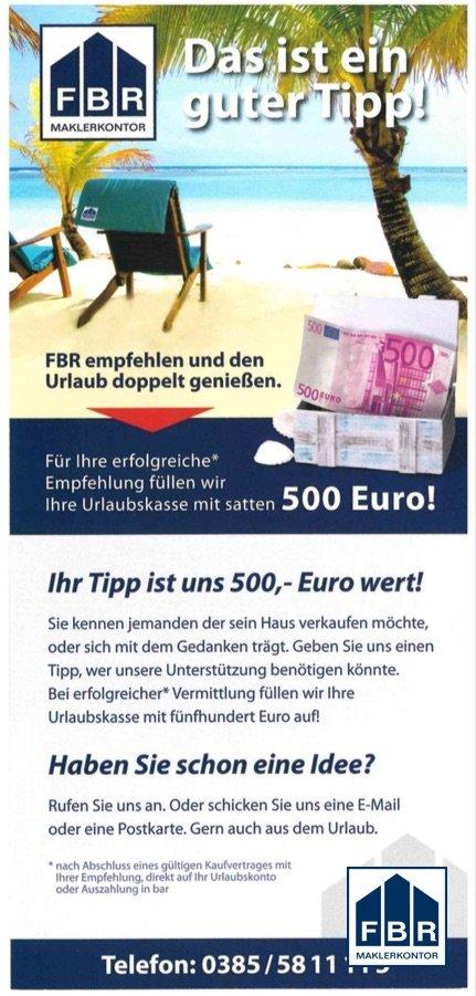 Ihre Chance auf 500 €