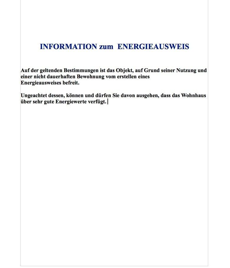 Info zum Energieausweis