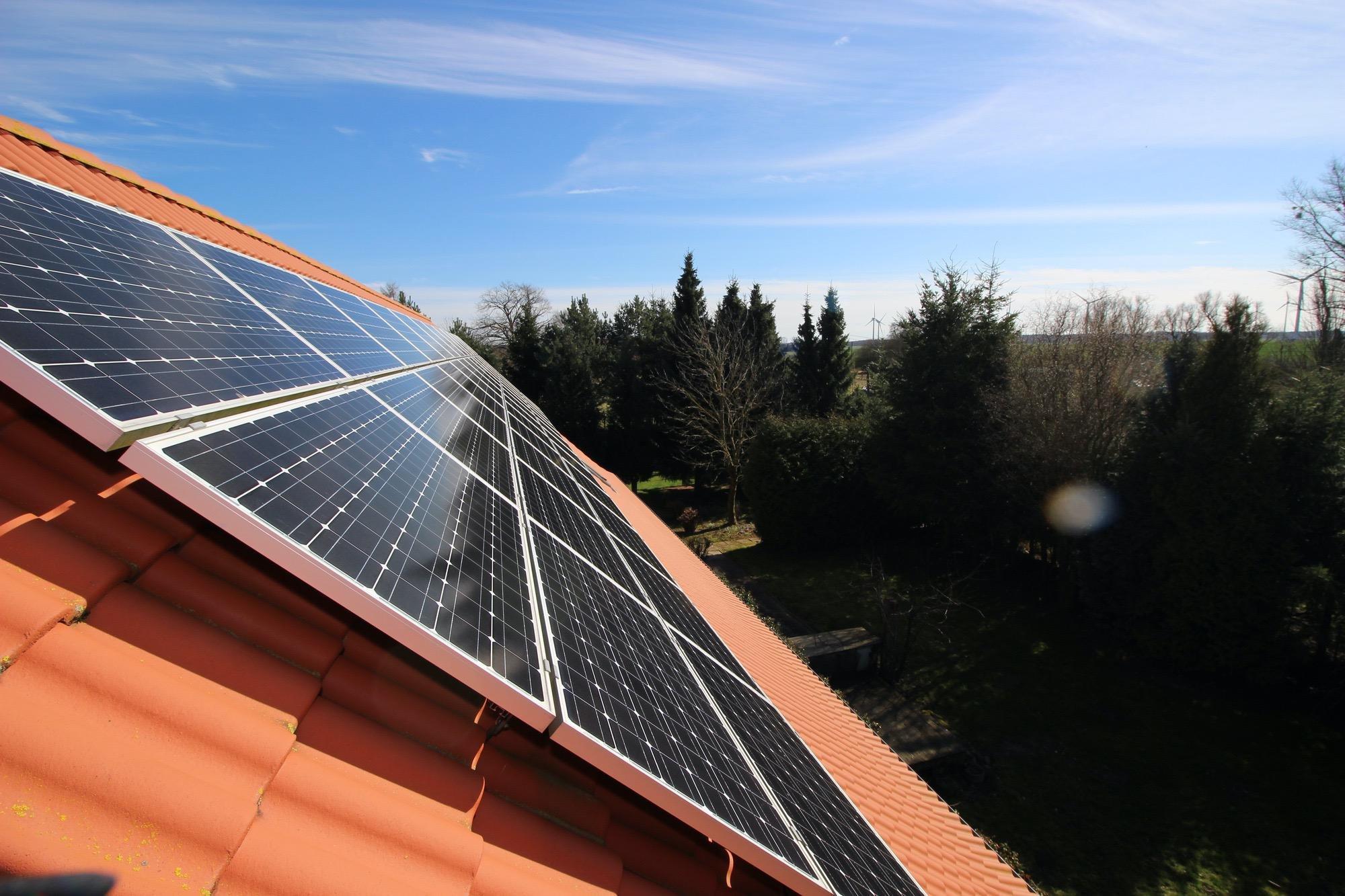 PV-Anlage zur Stromerzeugung