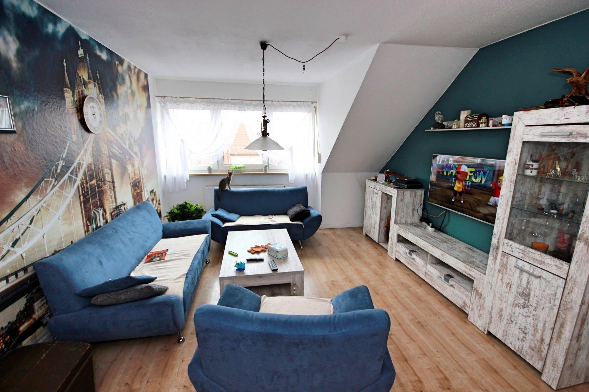 Viel Platz im Wohnzimmer
