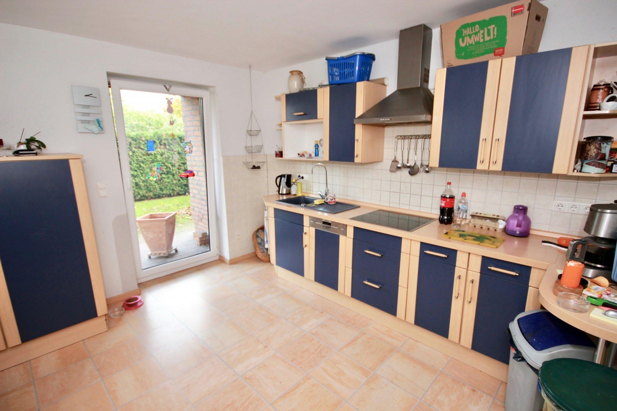 Küche mit Terrasse - Ostlage