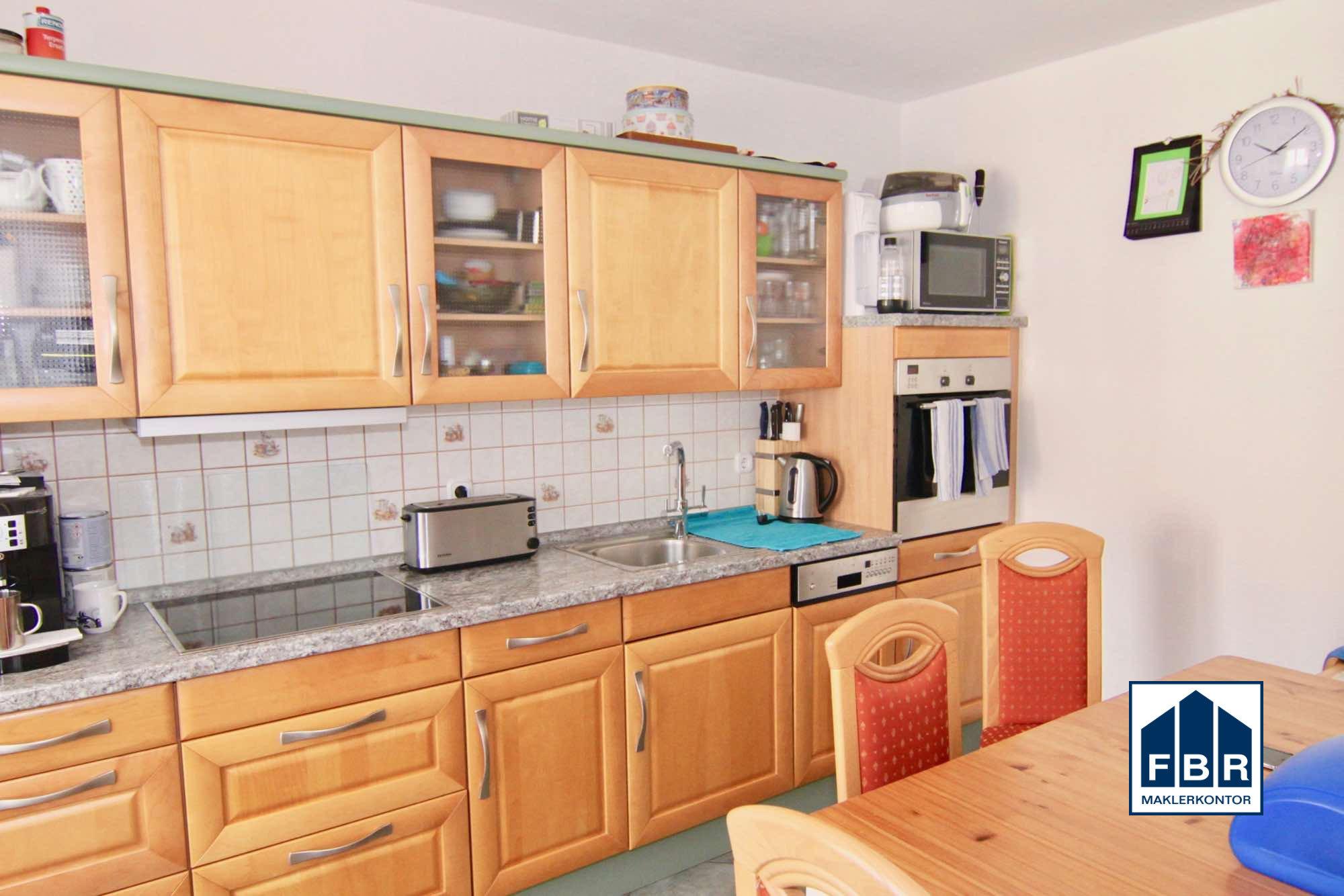 Die Küche mit EBK