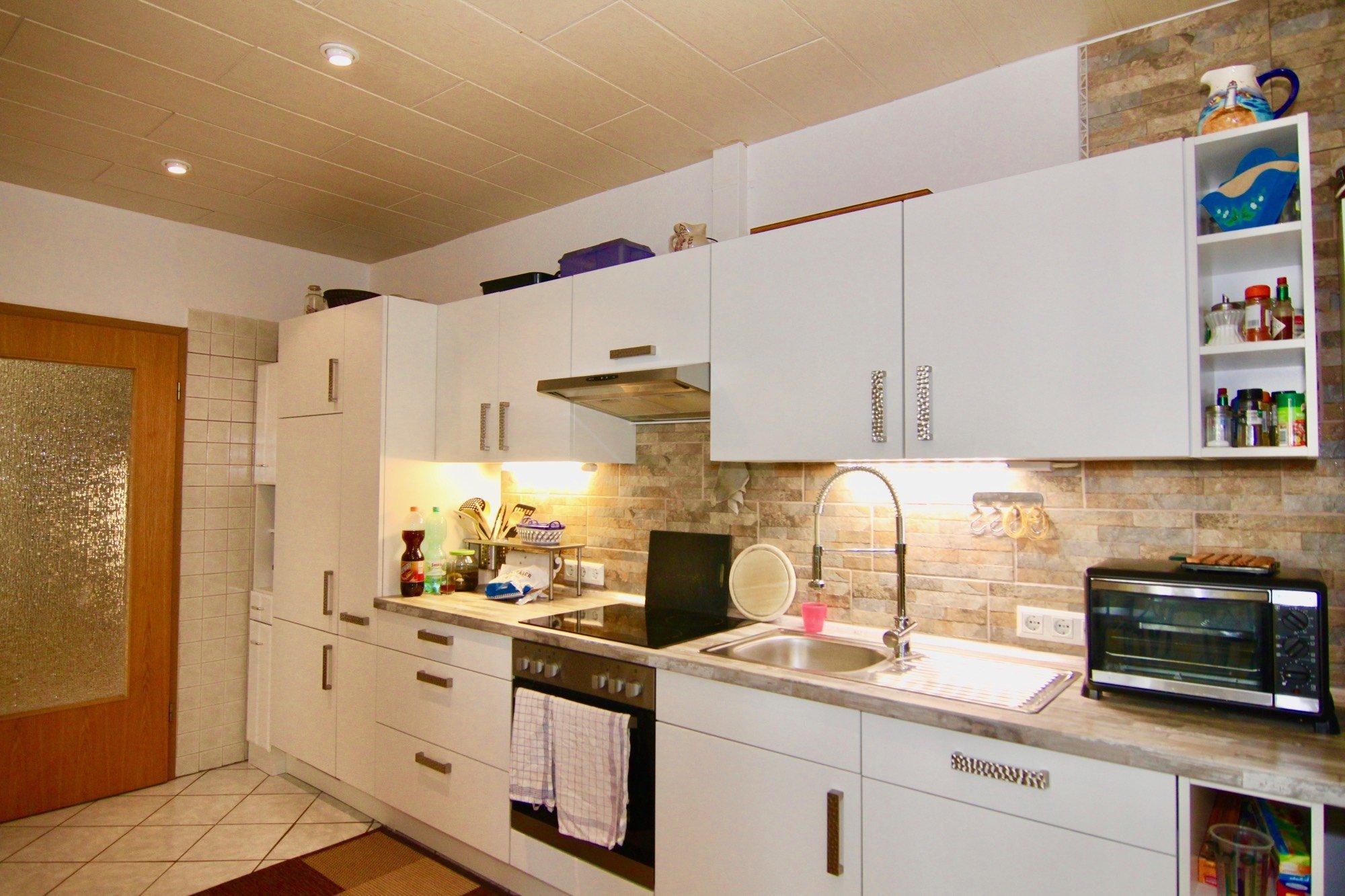 Küche mit neuer EBK