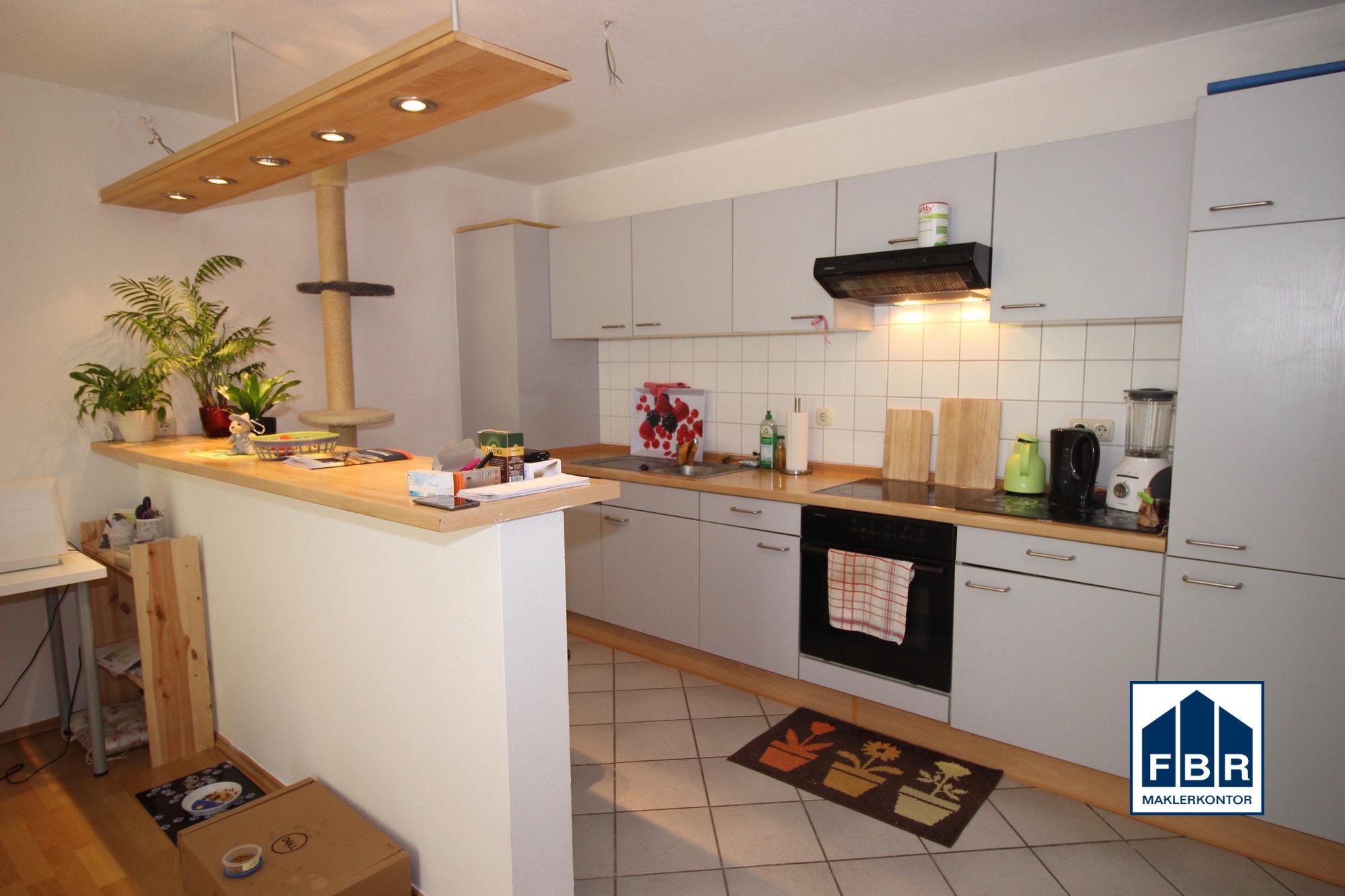 Einbauküche mit Bar