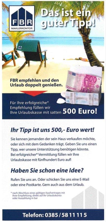 Ihre Chance auf 500 €!