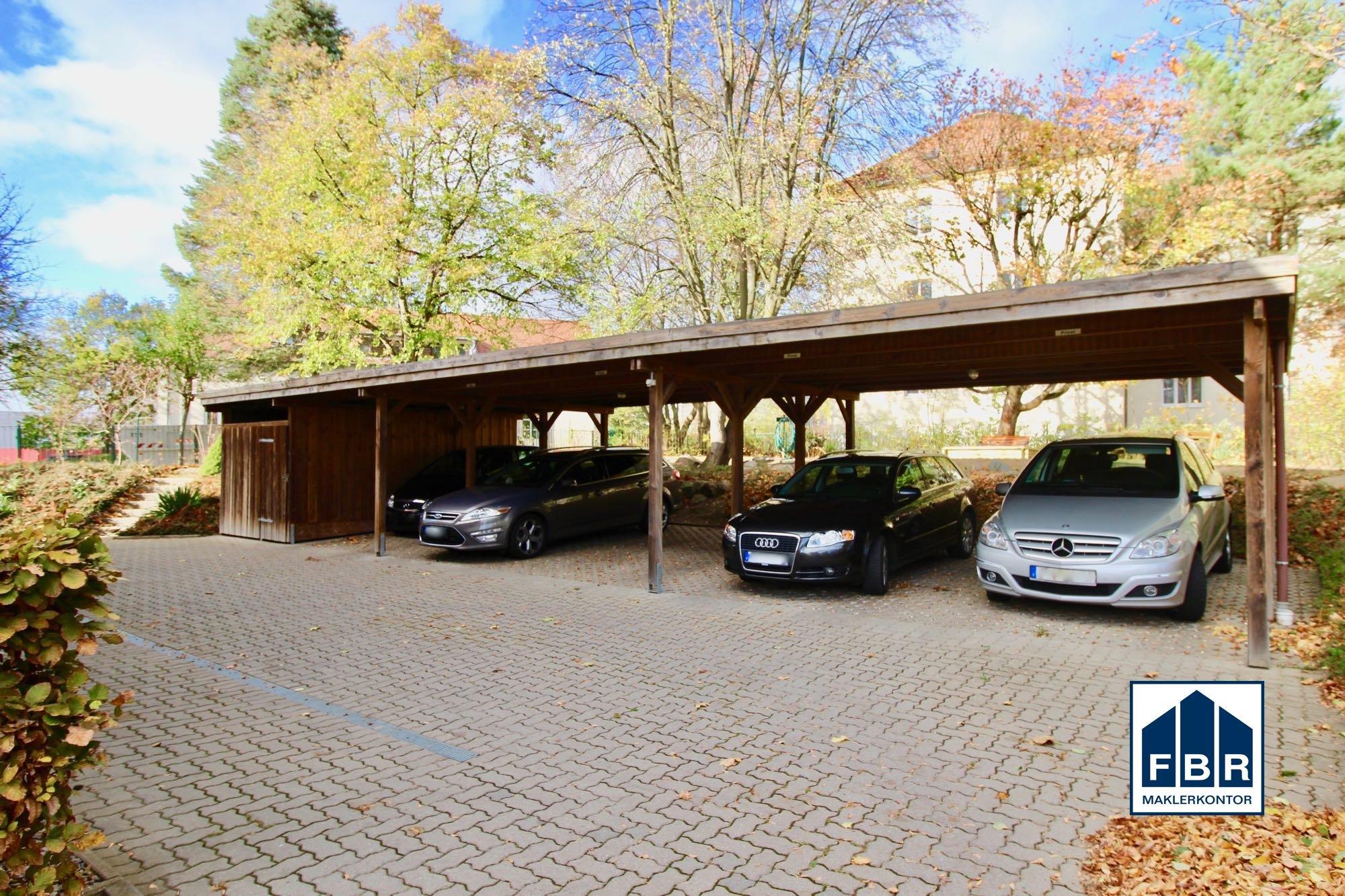 Carport am Haus
