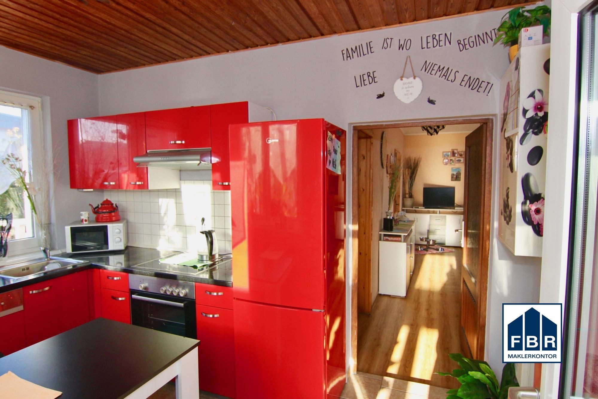 Küche - Zugang Wohnzimmer