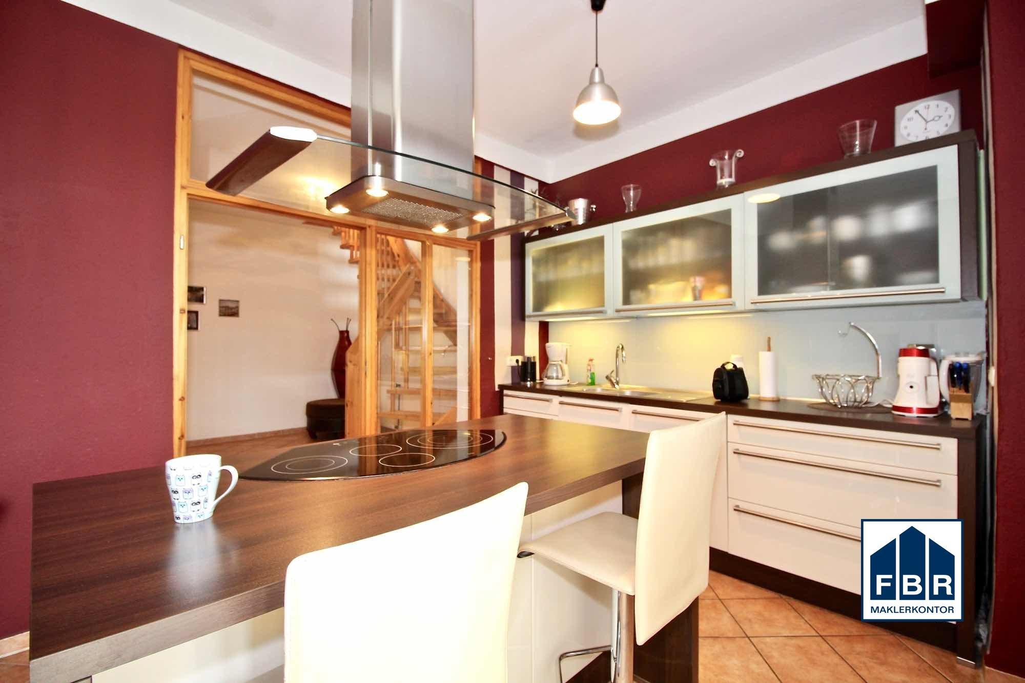 Küche im 2. Obergeschoss