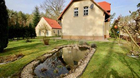kleine Teichanlage