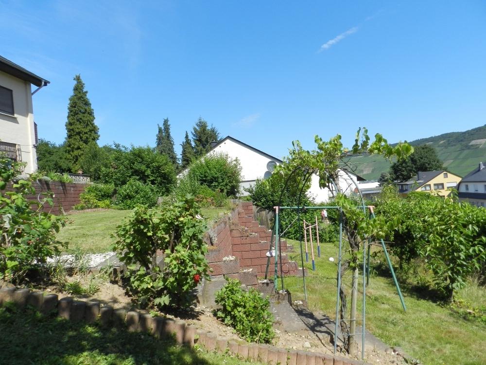 Garten in Terrassenform