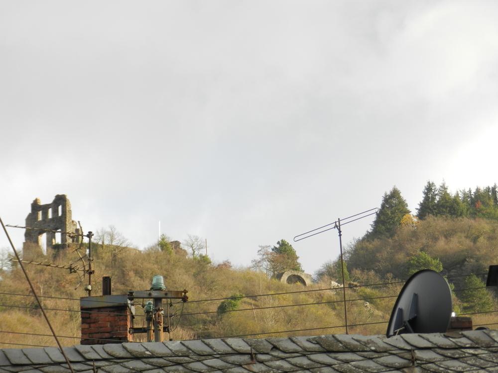 Ausblick Grevenburg