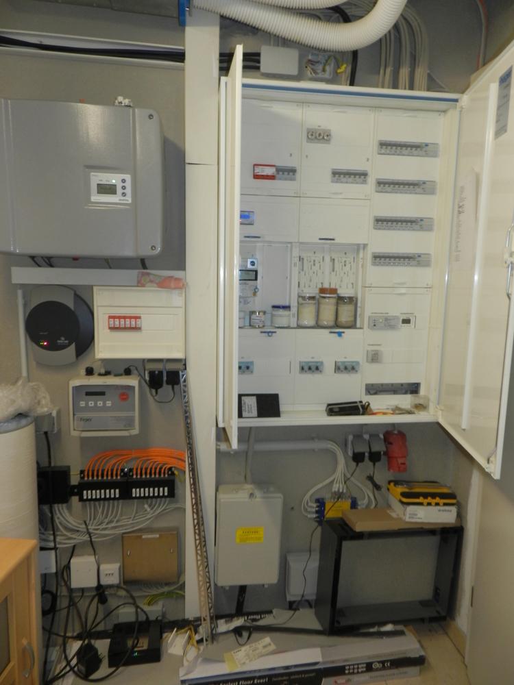 Wechselrichter PV/Stromkasten
