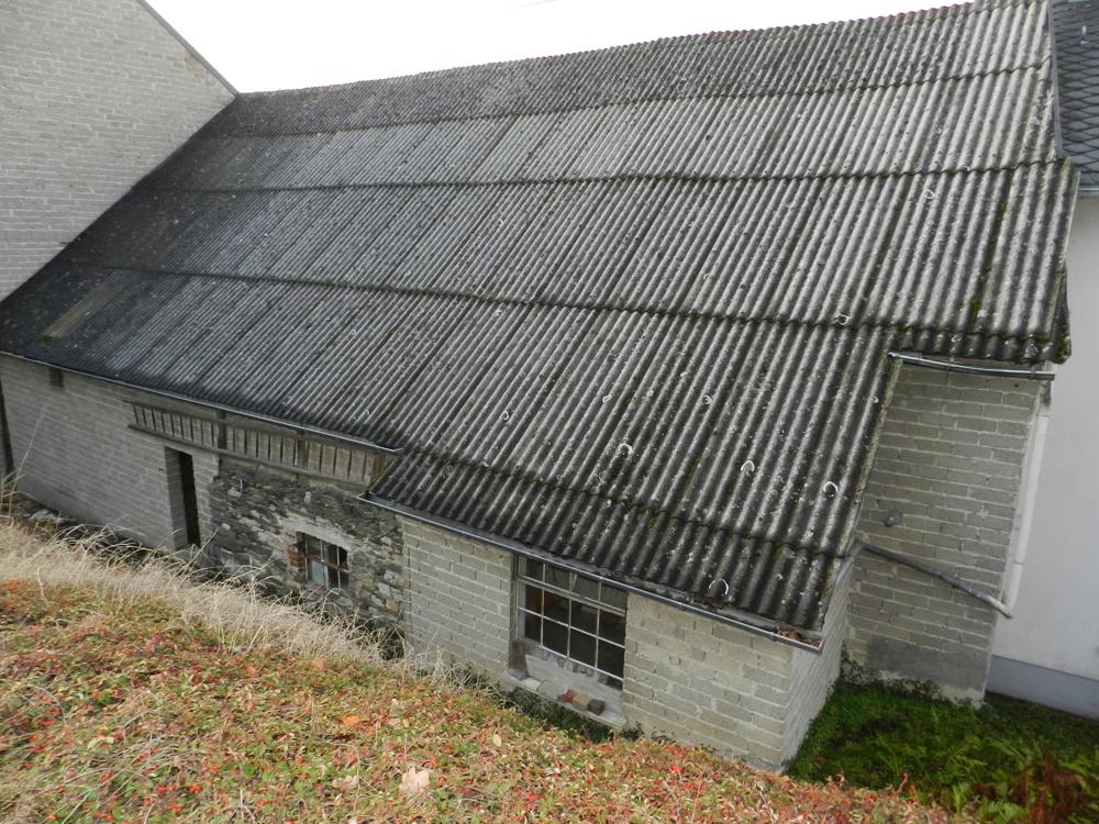 Dach Rückseite Scheune