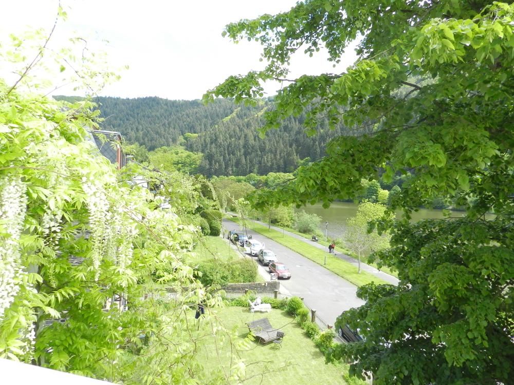 Mosel-Promenade Richtung Enkirch