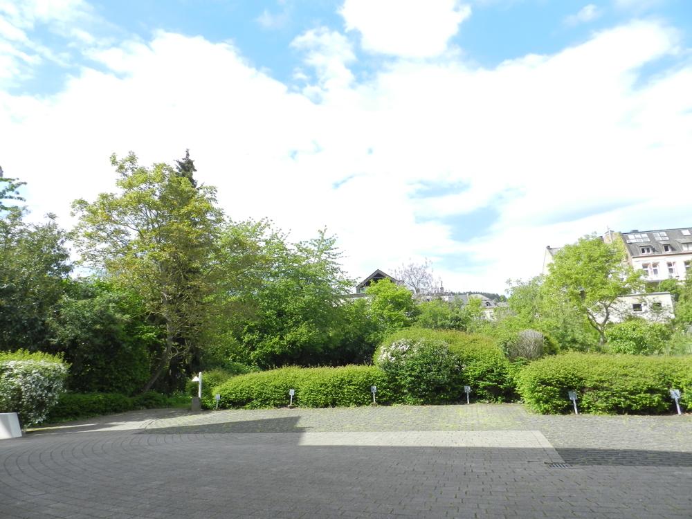 Blick aus dem Haupteingang