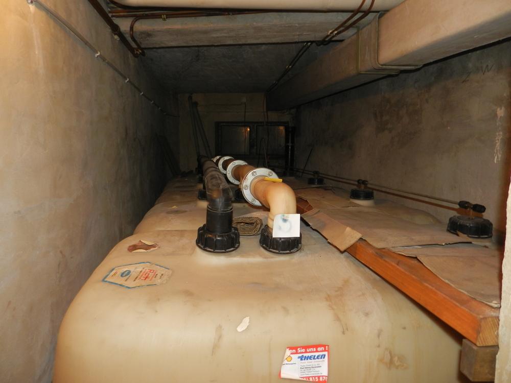 Kunststoff-Öltanks