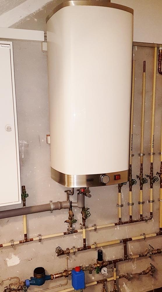 Warmwasserbereitung