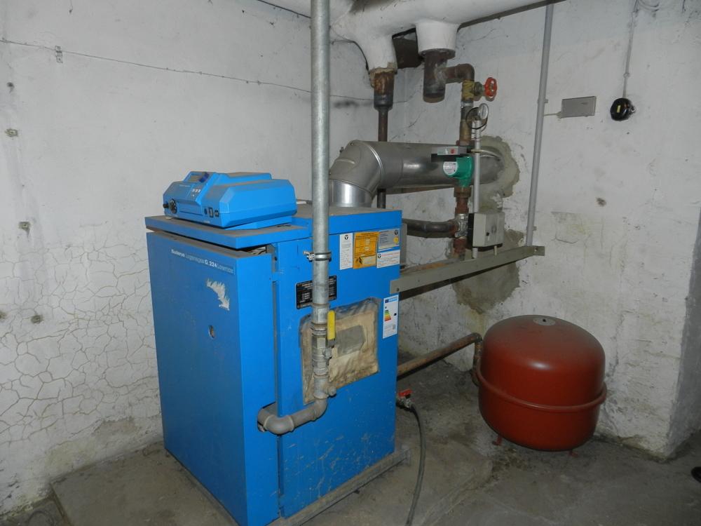 Gas- Zentralheizung