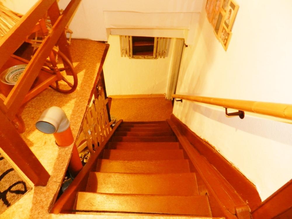 Treppe zum 1. OG