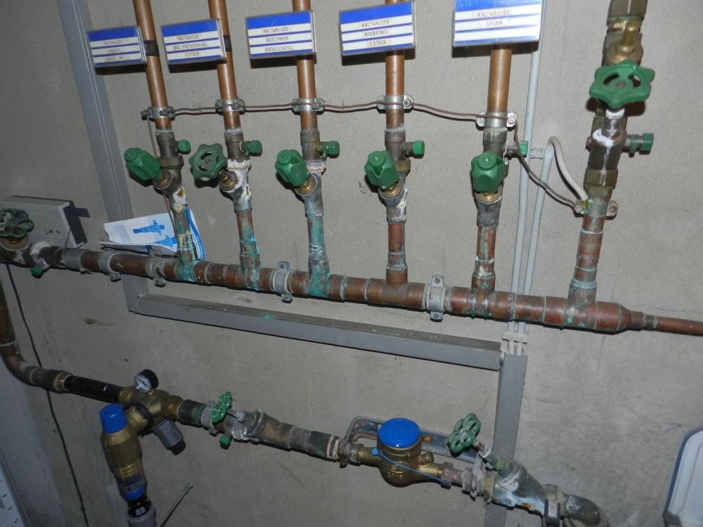 Unterverteilung Wasser