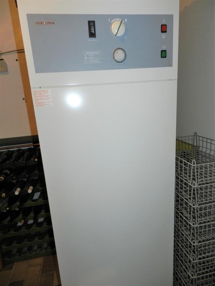 Wärmerückgewinnung Weinkeller